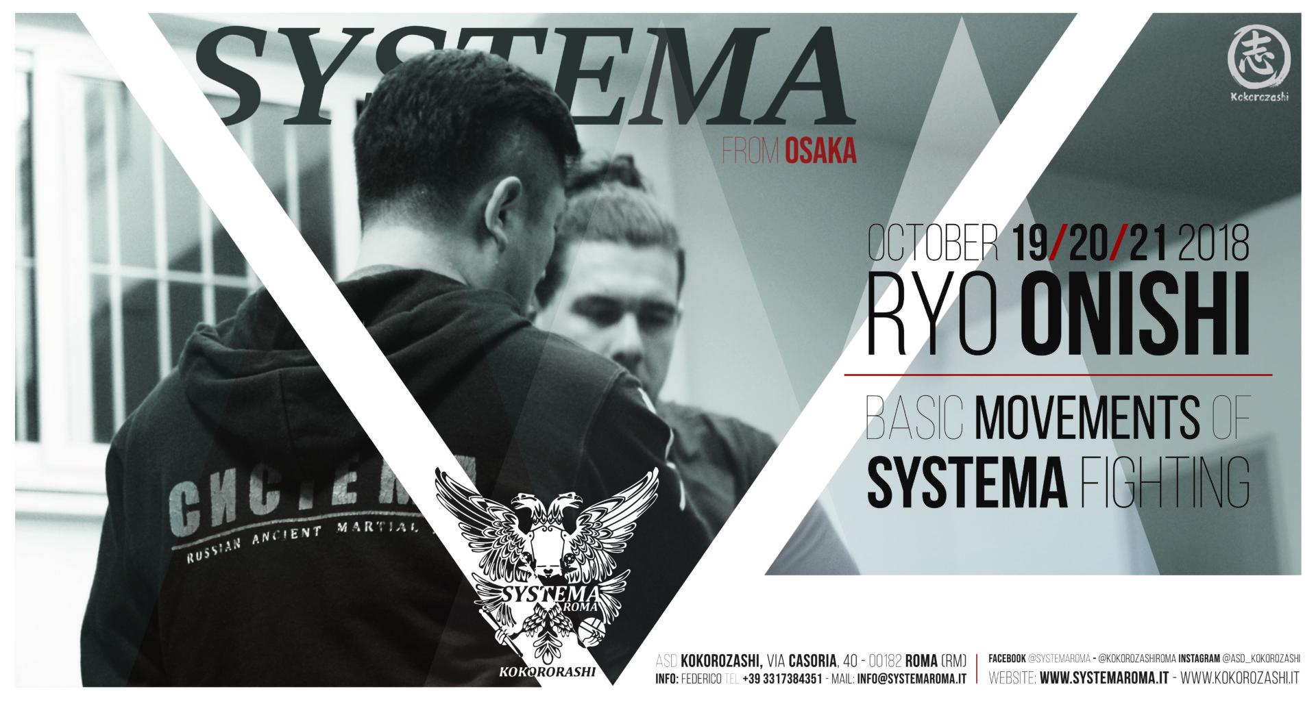 Systema seminar with Instructor Ryo Onishi